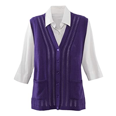 National Classic Sweater Vest at Women's Clothing store