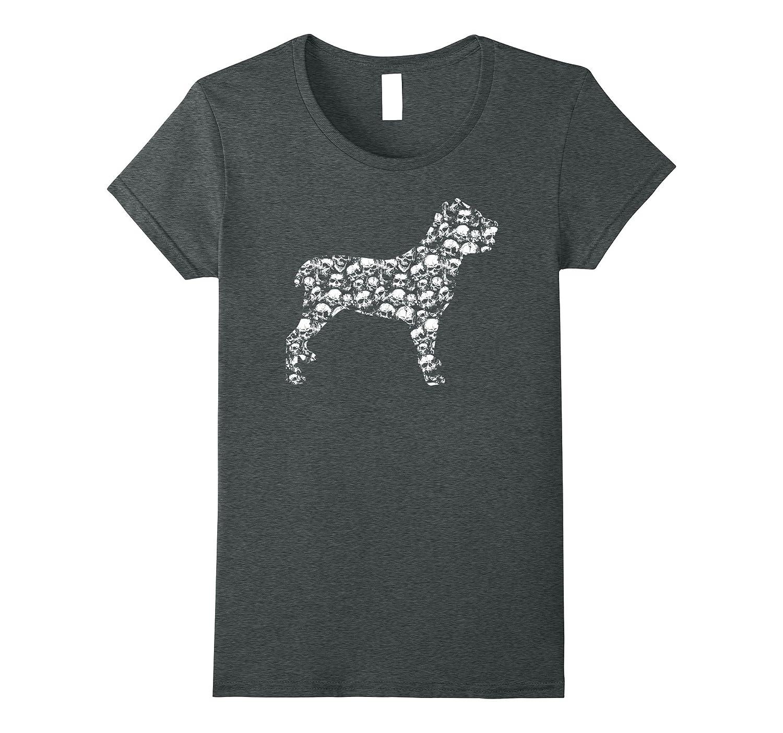 CANE CORSO Bones Skull Skeleton T-shirt Dog Costume