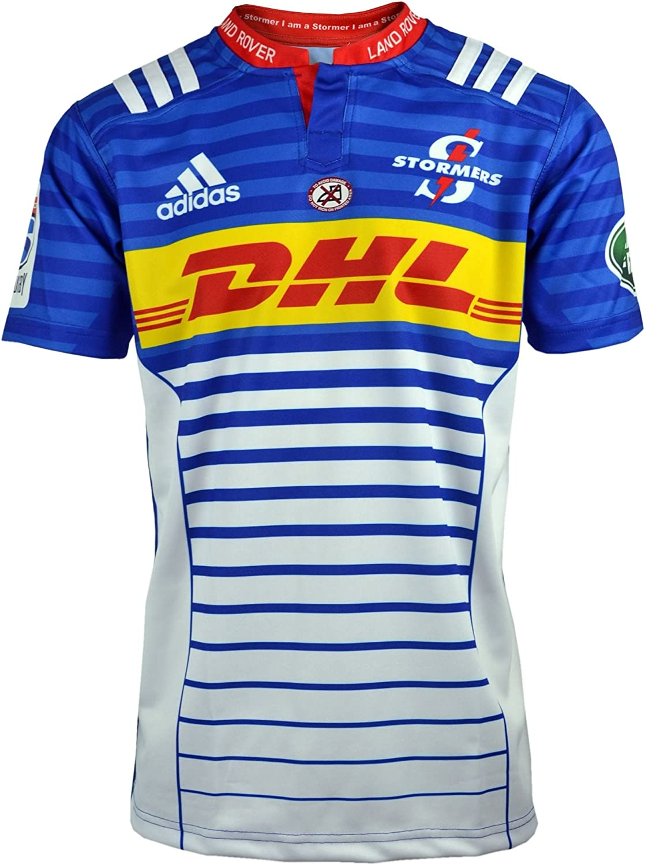 stormers 2017 Super Rugby Home Replica Shirt – Blue/Collegiate Royal/Blanco: Amazon.es: Ropa y accesorios