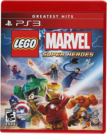 Amazon.com: Lego: Marvel Super Heroes - PlayStation 3: Whv Games ...