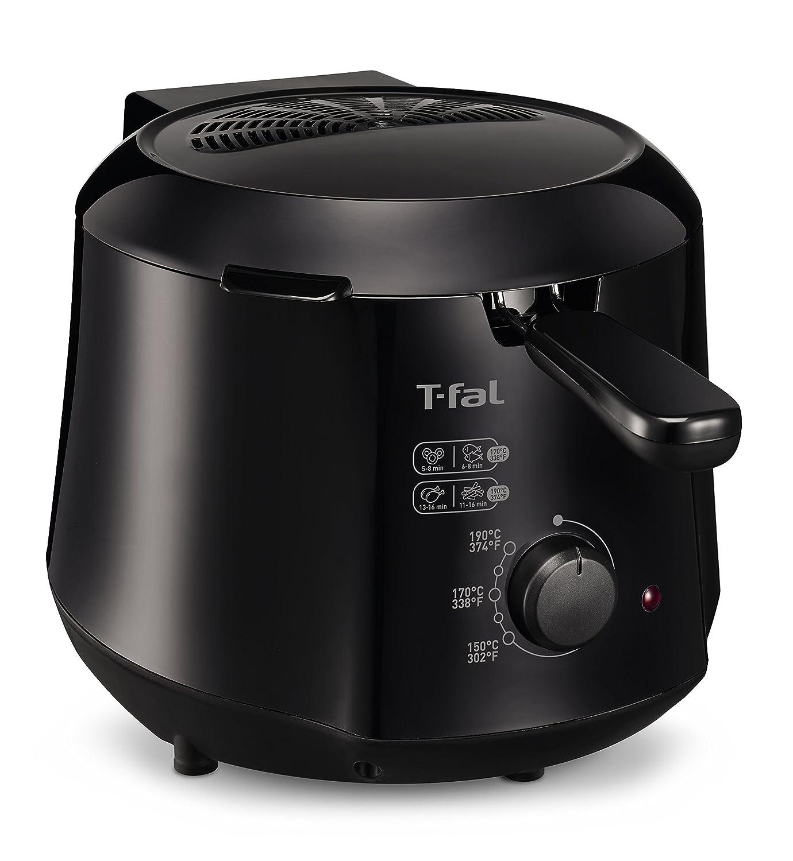 T-fal FF230850 Cool-Touch Mini Deep-Fryer 1.2-Liter Black