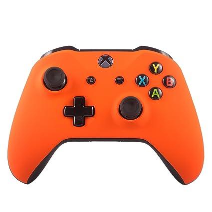Xbox One S Wireless Bluetooth Controller Custom Soft Touch Orange