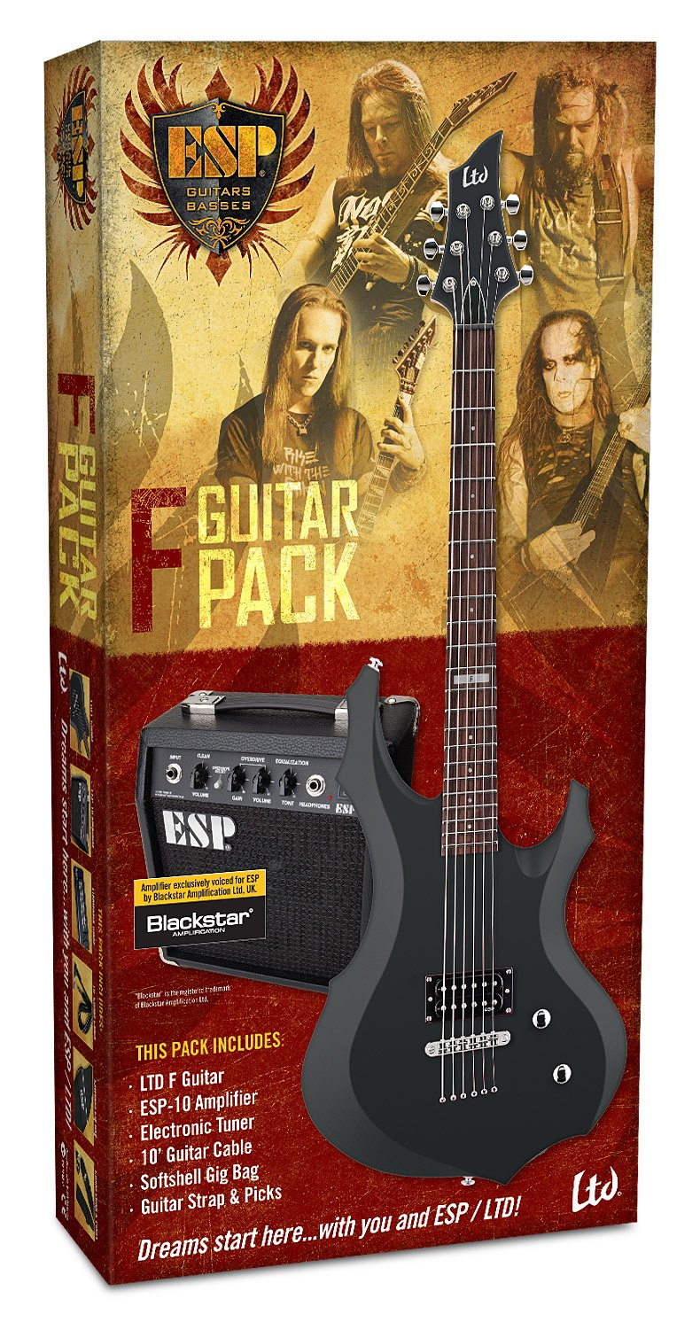 LTD F-Pack de guitarra electrica y amplificador: Amazon.es: Instrumentos musicales
