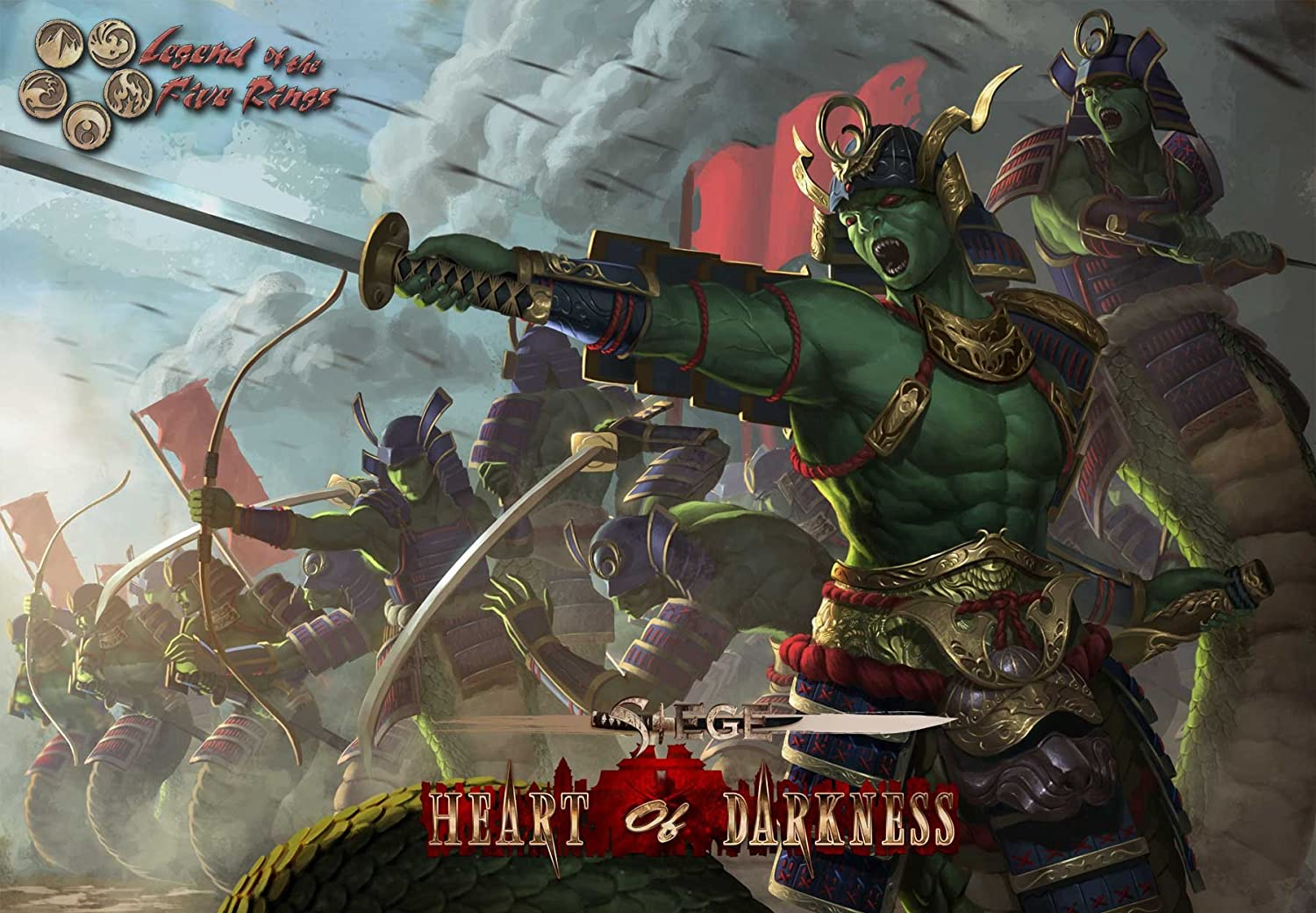 Alderac Entertainment Group Inc. Legend of the Five Rings: Siege: Heart of Darkness