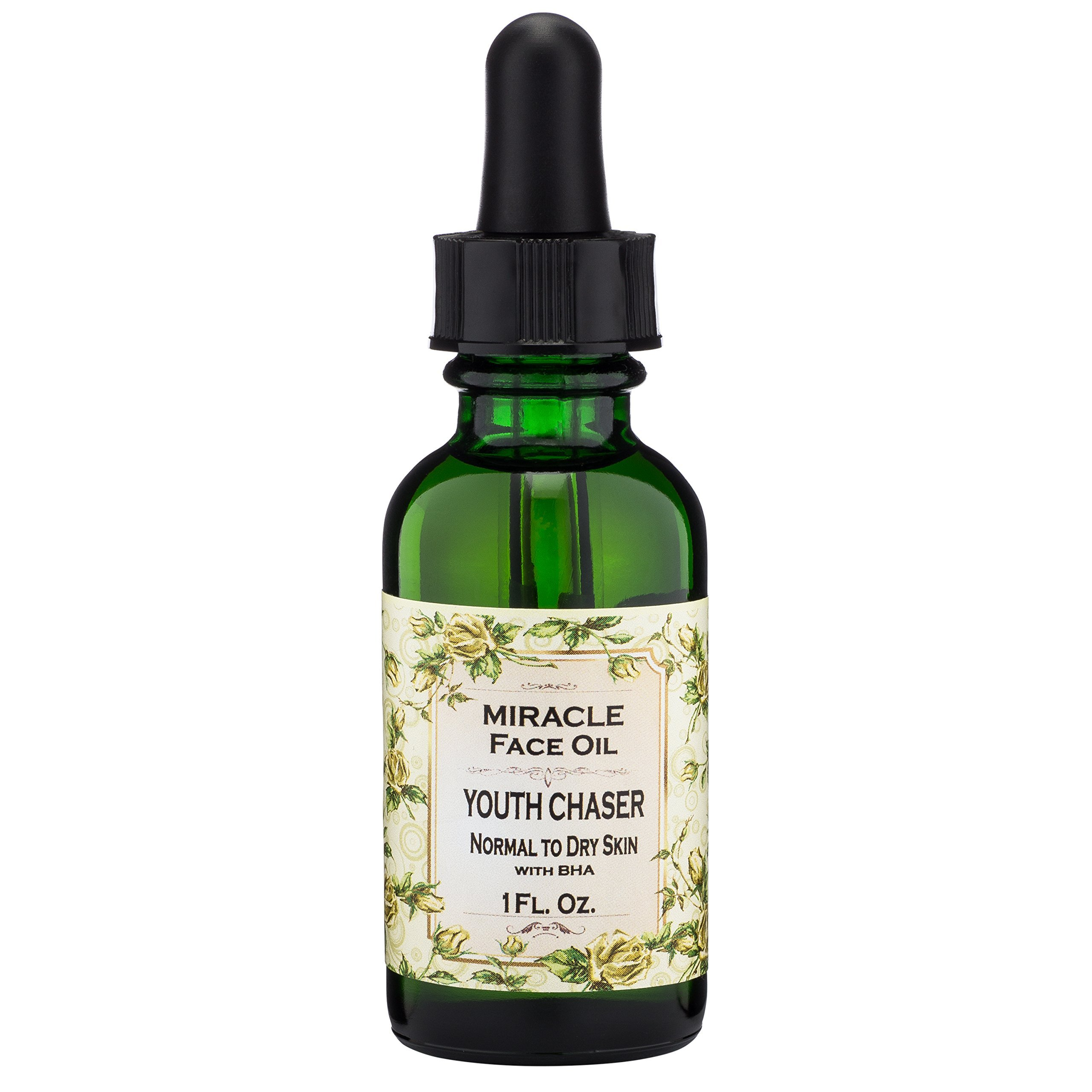 Miracle Face Oil Youth Chaser Rosehip Seed Evening Primrose Essential Oils