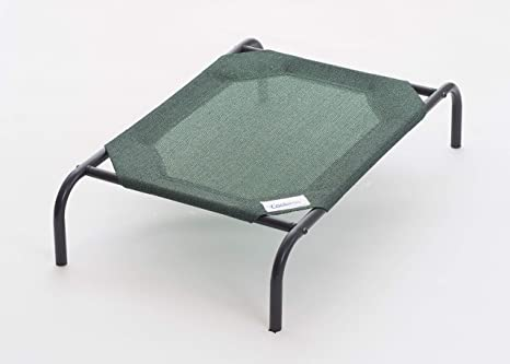Detachable Assembly Style Breathable Pet Steel Frame Camp Bed M Green Access Control