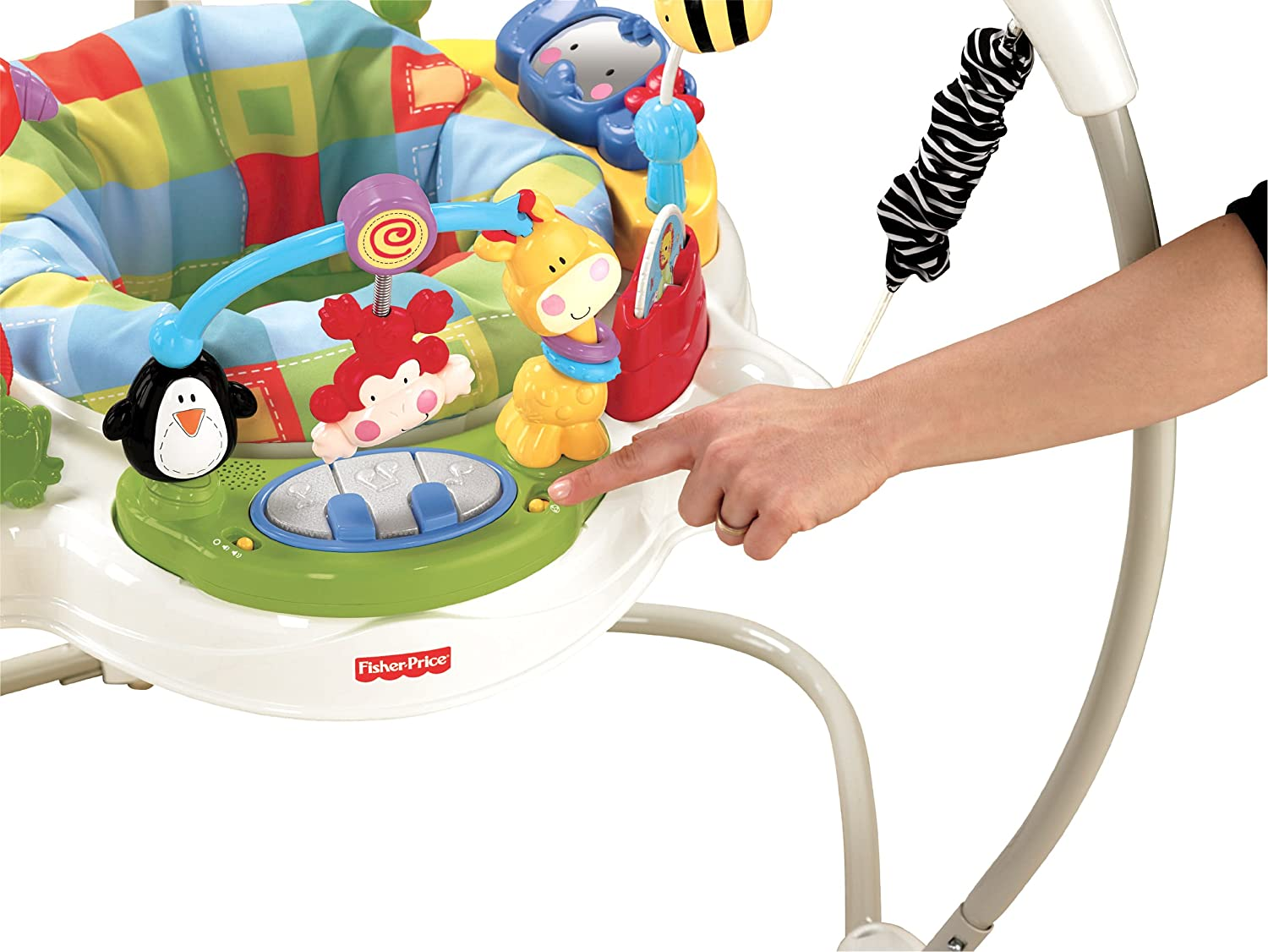 Fisher price jumperoo - Amazon Com Fisher Price Discover N Grow Jumperoo Stationary Stand Up Baby Activity Centers Baby