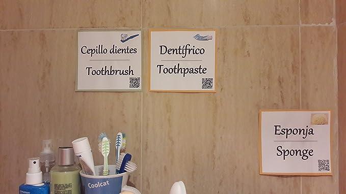 Visual English - Tarjetas para aprender vocabulario en ingles del Hogar: Amazon.es: Juguetes y juegos