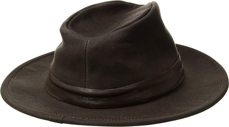 Mens San Pedro Rock Weather Resistant Fedora Hat Made in USA Goorin Bros