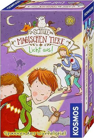 Kosmos 711405 Die Schule Der magischen Tiere - Juego de Mesa [Importado de Alemania] Juego de Souvenir, emocionante Juego de Dados para niños a Partir de 7 años.: Amazon.es: Juguetes y juegos