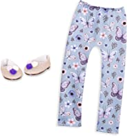 Glitter Girls by Battat – Flutter and Sparkle Shoes and Leggings Accessory Set – 14-inch Doll Clothes and Accessories for Gi