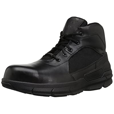 Bates Men's Charge 6 Composite Toe Side Zip Military and Tactical Boot: Shoes