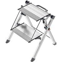 Hailo 4310-100 Marchepied Mini Comfort, Aluminium, Argent