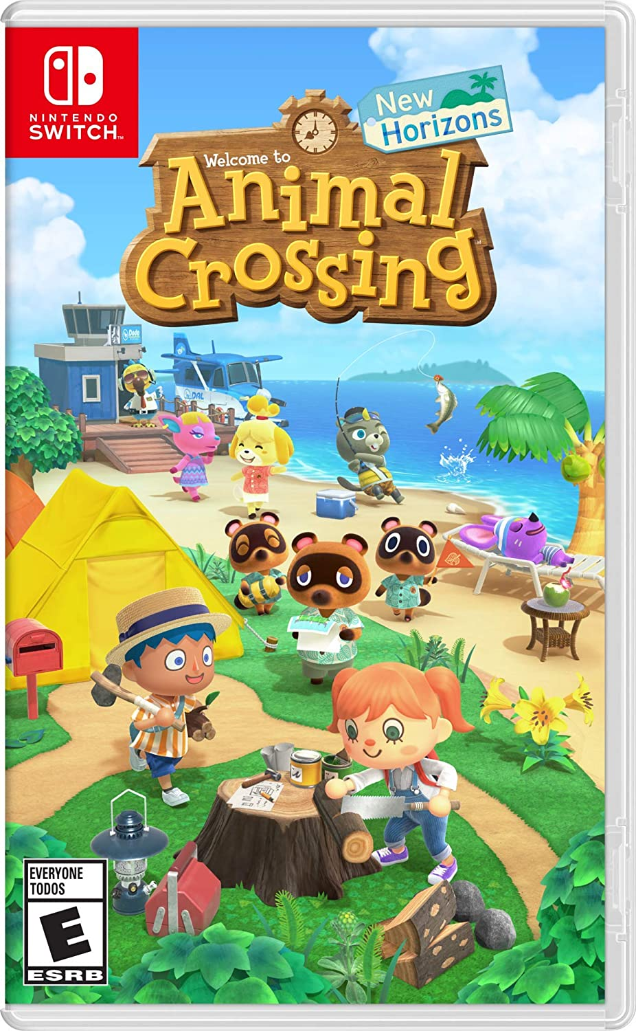 Animal Crossing: New Horizons Officially Releases for the Nintendo Switch WeeklyReviewer Animal Crossing: New Horizons