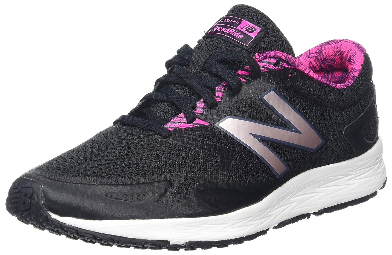 New Balance Flash V2, Zapatillas de Running para Mujer 43 EU|Negro (Black/Pink)