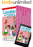 Cupcakes and Crimes: Books 1 - 6: 6 Book Box Set (Bakers and Bulldogs Mysteries Box Set)