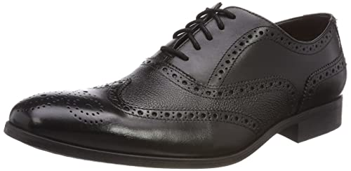 Batcombe Neri Clarks Pelle Amazon shoes Wing 7yf6Yvbg