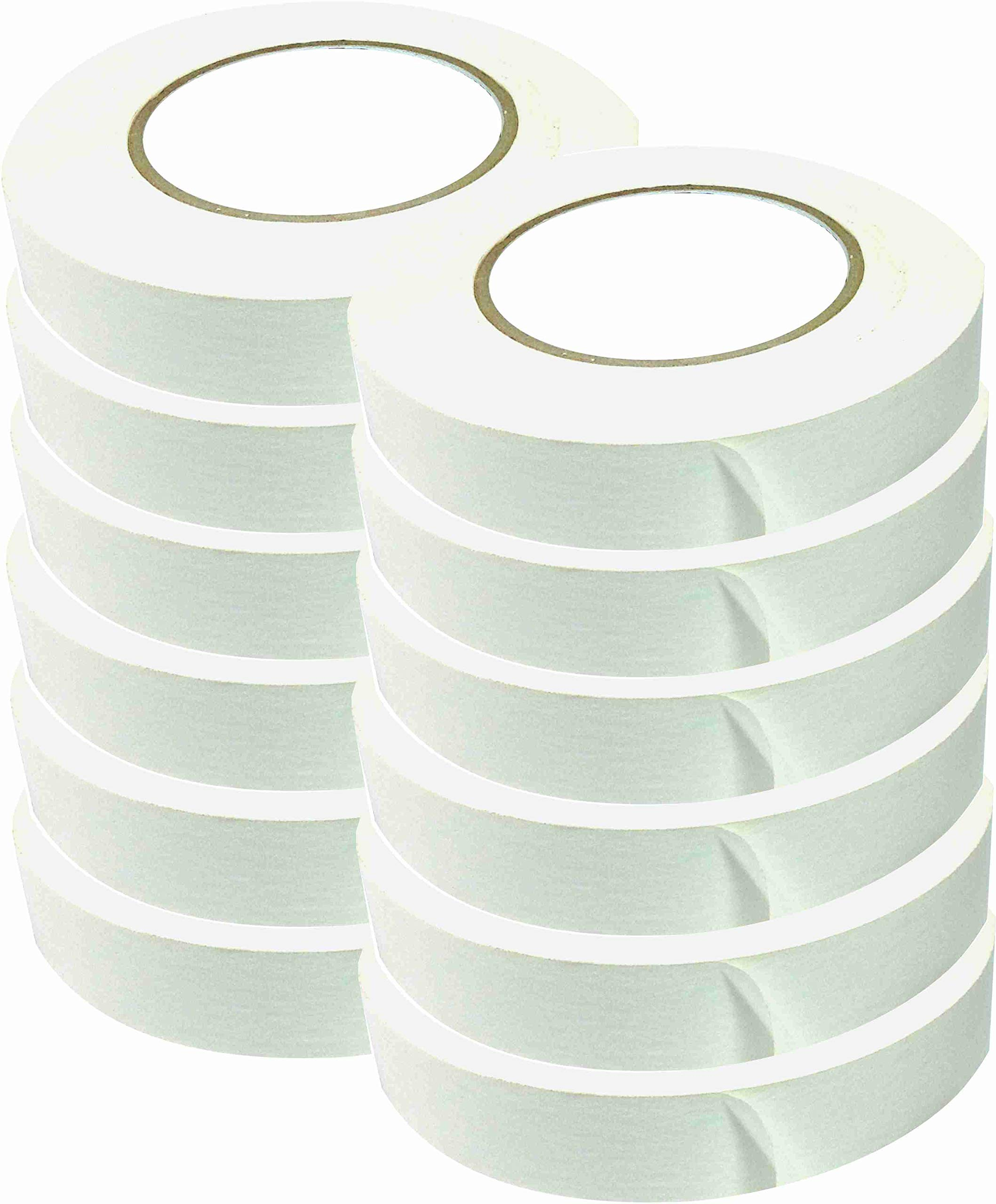 American Recorder 1'' x 60 Yards White Console Tape (12)
