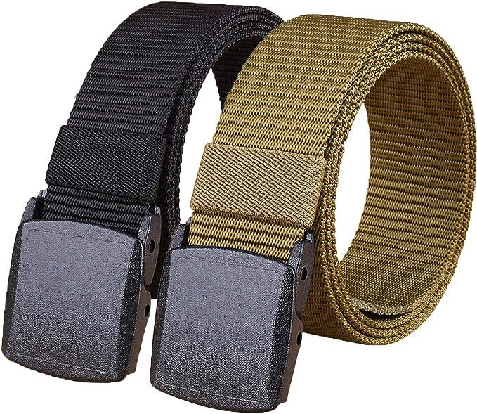 Tactical Belt,1.25 Inches Military Utility Belt for Men Women Nylon Web Belt for Boy