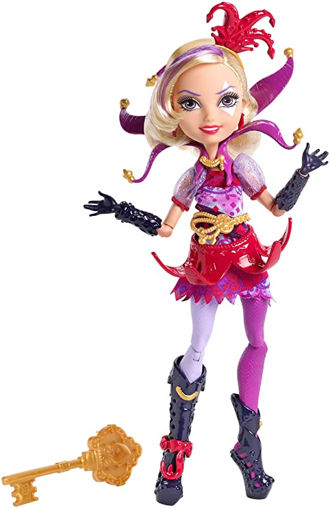 amazon com ever after high way too wonderland courtly jester doll