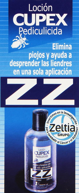 Loción Cupex ZZ Tratamiento Antipiojos, 100 ml: Amazon.es: Belleza