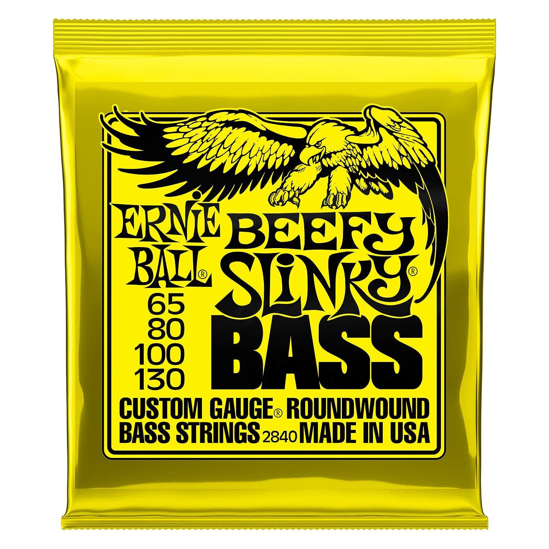 Ernie Ball Regular Slinky Cuerdas para bajo eléctrico de 5 cuerdas con entorchado de níquel - calibre 45-130: Amazon.es: Instrumentos musicales