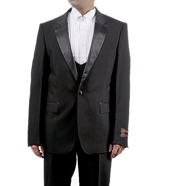 Amazon.com: Mens 3 PC negro Tuxedo Incluye Tuxedo – Chaqueta ...