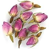 Pink Rose Buds Premium Loose Leaf Herbal Tea - Chiswick Tea Co - 100g