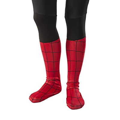 Rubie's Ultimate Spiderman Child Sock Style Boot Covers: Toys & Games