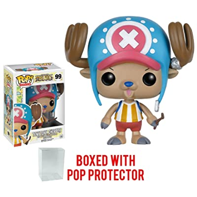 Funko Pop! Anime: One Piece - Tony Tony Chopper Vinyl Figure (Bundled with Pop Box Protector CASE): Toys & Games