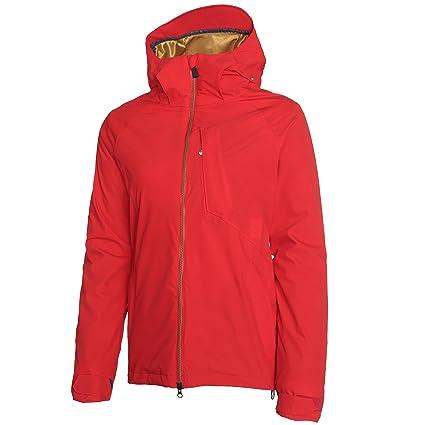 Volcom Mujer pika TDS abajo chaqueta, mujer, color Scarlet ...