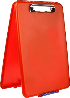 product image for Dexas Slimcase Storage Clipboard, Red