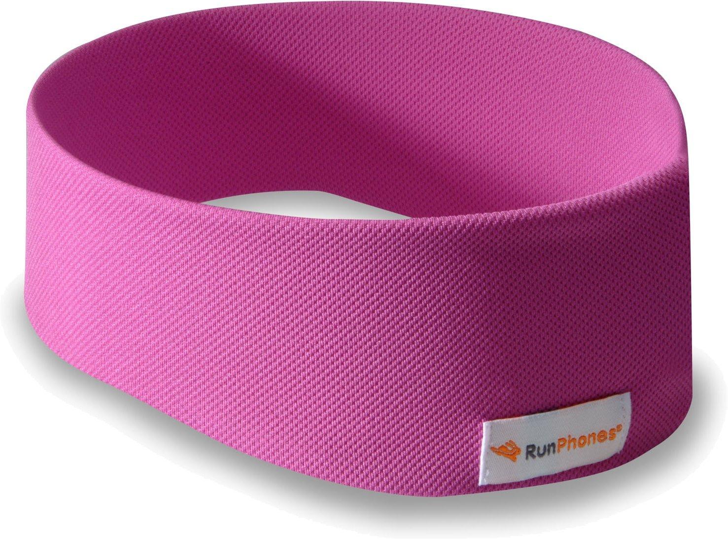 AcousticSheep RunPhones Wireless Bluetooth Headphone Headband (Wild Orchid, Medium)