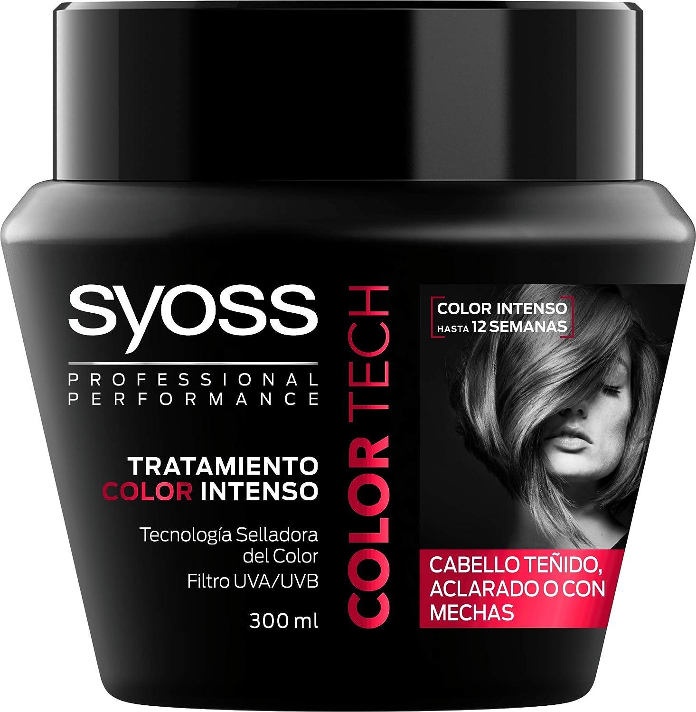 SYOSS - Mascarilla Color Tech - Tecnología Selladora del Color - 2 uds de 300 ml