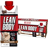 Lean Body Ready-to-Drink Chocolate Protein Shake, 40g Protein, Whey Blend, 0 Sugar, Gluten Free, 22 Vitamins & Minerals…