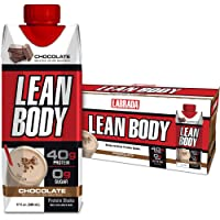 Lean Body Ready-to-Drink Chocolate Protein Shake, 40g Protein, Whey Blend, 0 Sugar...