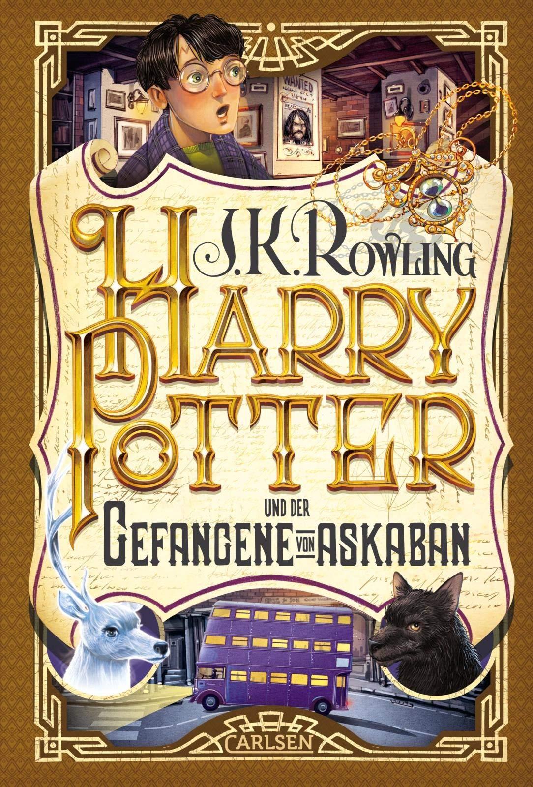 Harry Potter 3 Und Der Gefangene Von Askaban Rowling J K 9783551557438 Amazon Com Books