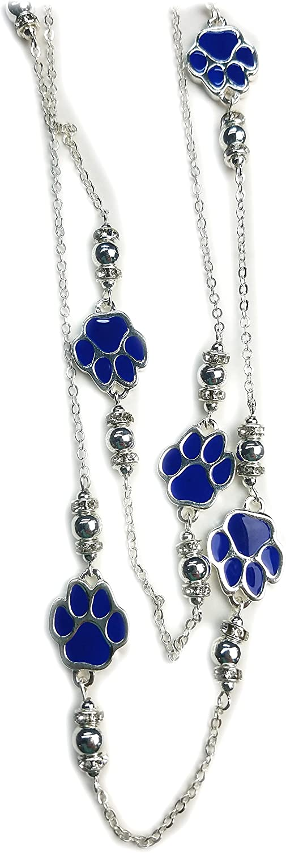 Silver Nitro USA NCAA Kentucky Wildcats Womens Rhinestone UK French Wire Earrings One Size