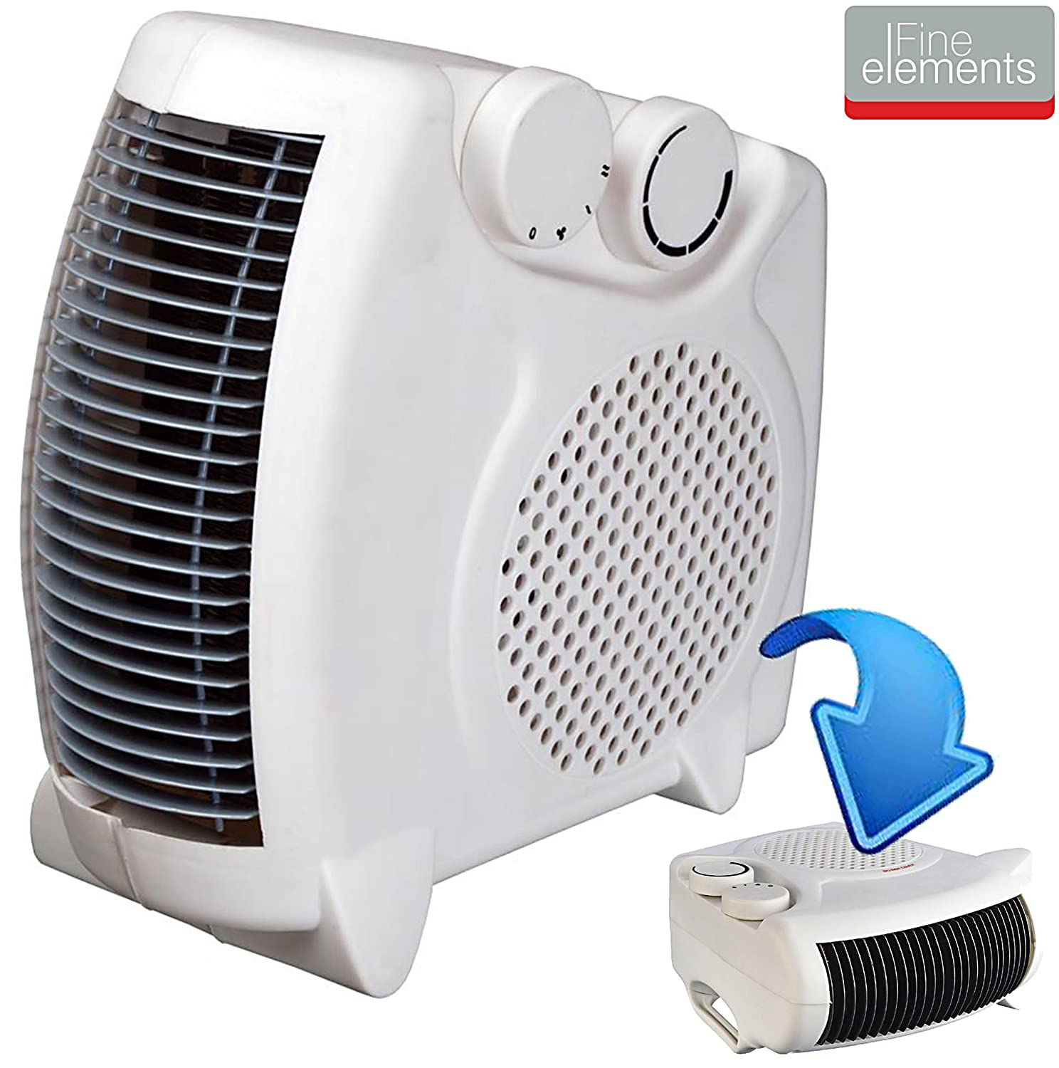 2000W PORTABLE SILENT ELECTRIC FAN HEATER HOT & COOL UPRIGHT BRAND NEW IN BOX Status 5038673980430