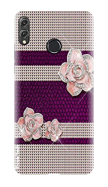 Think Tech Huawei Honor 8X Printed Hard Back case Cover
