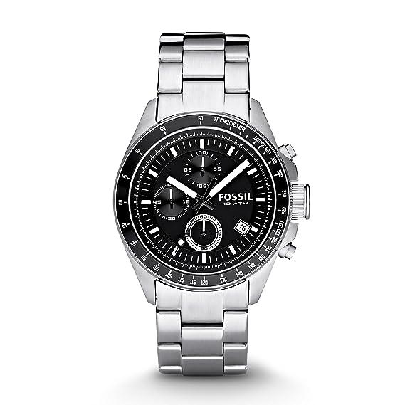 Fossil CH2600IE - Reloj de Acero Inoxidable para Hombre ...