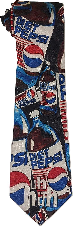 Diet Pepsi All Over Large New Novelty Necktie Tie