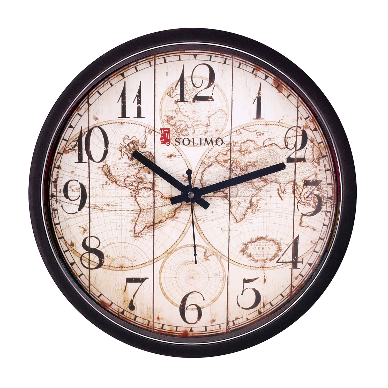 Amazon Brand - Solimo 12-inch Wall Clock