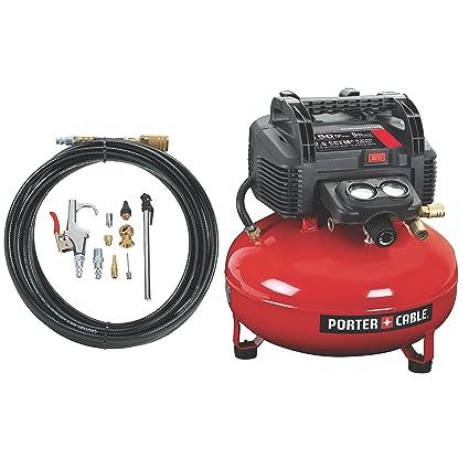 Amazon Porter Cable C2002 Wk Oil Free Umc Pancake Compressor