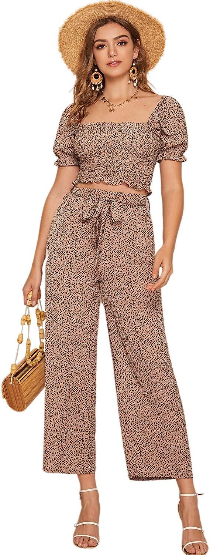 P/&E Womens Beach Floral Print Elastic Waist Simple Tassel Short Pants