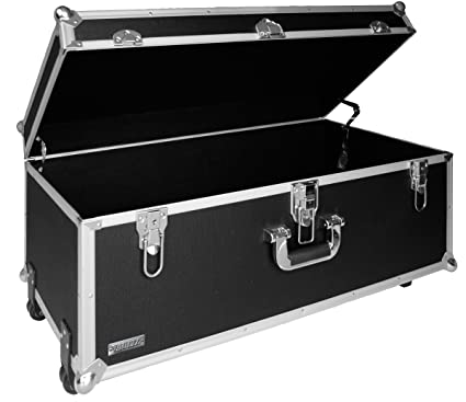 Genial Vaultz 14 X 30 X 16 Inches Locking Extra Large Storage Chest With Wheels,
