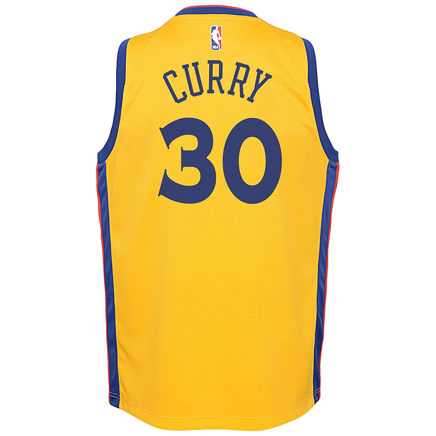 Nike NBA Golden State Warriors Stephen Curry Youth Swingman Jersey - City Edition Youth Small: Amazon.es: Deportes y aire libre