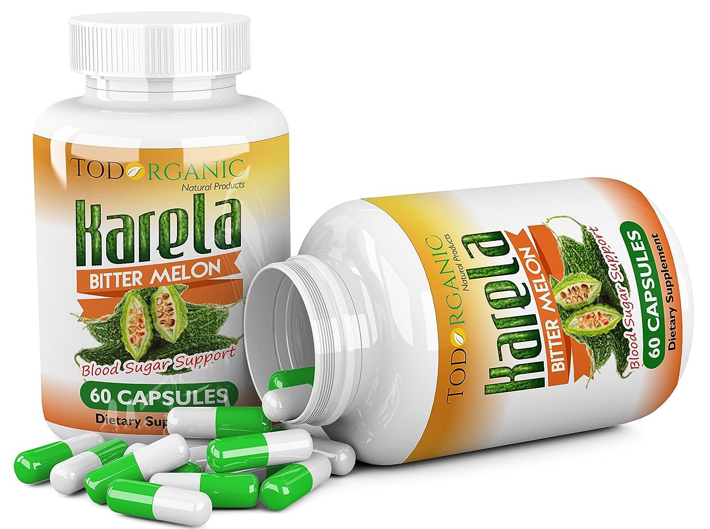 Amazon.com : Karela Pills, 100% Organic, Síntomas de Diabetes, Tratamiento Natrural de Hipertensión : Everything Else