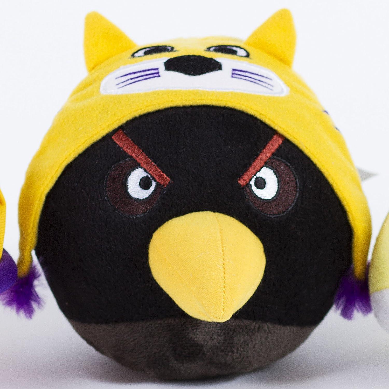 Amazon Com Lsu Tigers Angry Birds Plush Toy Lsu Tigers Angry Birds