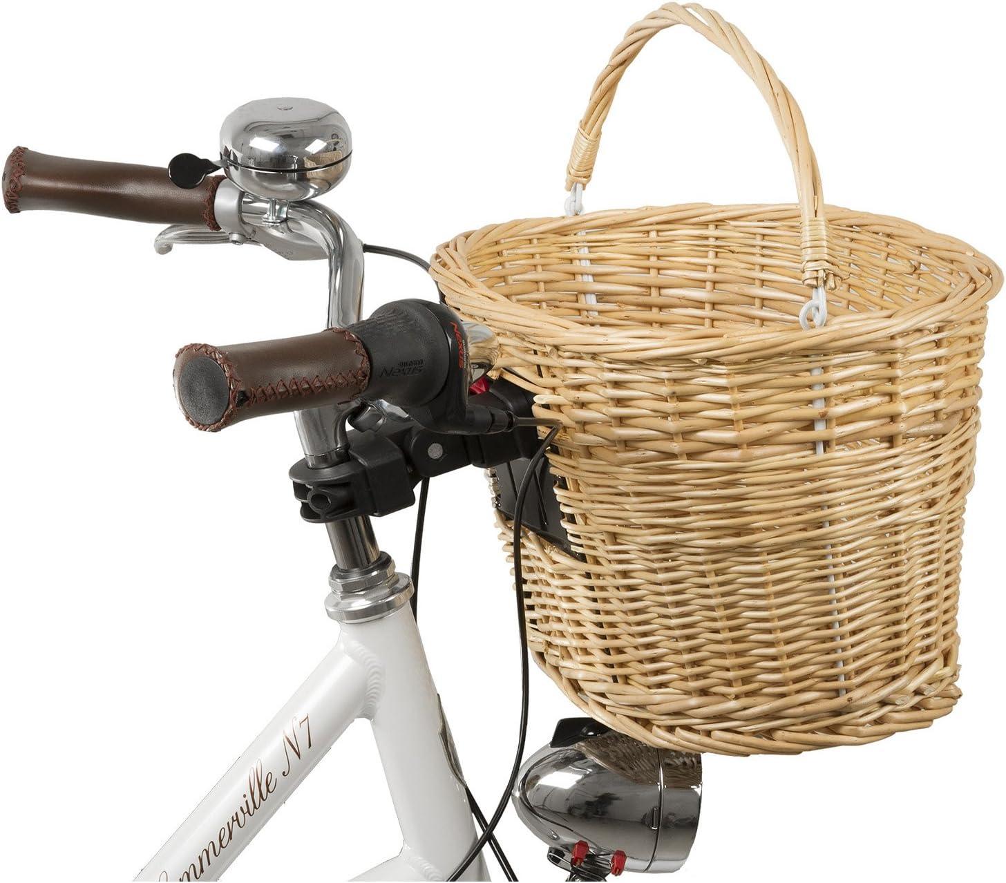 Fahrradkorb universal Gepäckträger M-Wave Ocean R Seegraskorb Fahrrad Korb